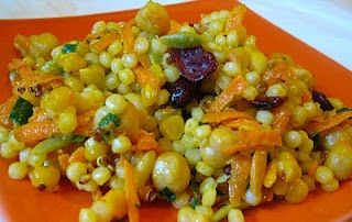Morrocan couscous salad