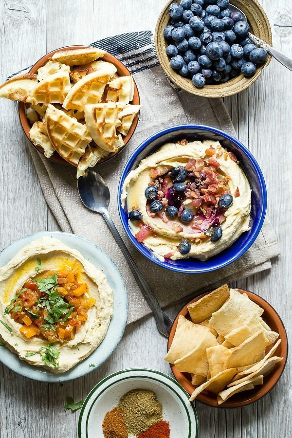 Classic Hummus Two Ways - Foodness Gracious
