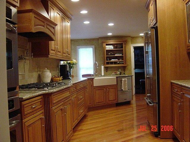 A remodeled kitchen (not mine)