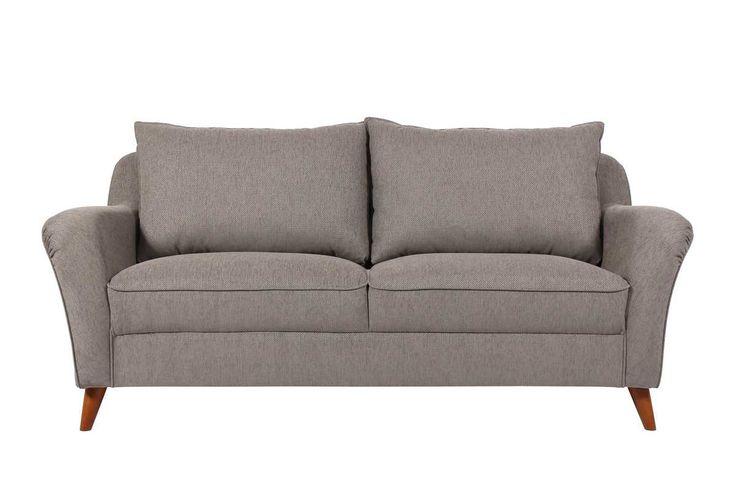 Lola 3-istuttava sohva/Laulumaa Huonekalut Oy Mitat: leveys 187 cm, syvyys 92 cm, korkeus 78 cm Tyylikästä uutta muotoilua parhaimmillaan, kompakti koko mutta muhkea ulkonäkö. Todella hyvä istuttava sohva, tuntuman miellyttäväksi tekee pitkäikäinen ERX-vaahto. Kiintoverhoiltu, selkätyynyt molemmin puolin verhoiltuja kääntötyynyjä. Saatavana myös 2-istuttavana sekä nojatuolina. Useita eri jalkavärivaihtoehtoja kuten myös kangasvaihtoehtoja eri väreissä.