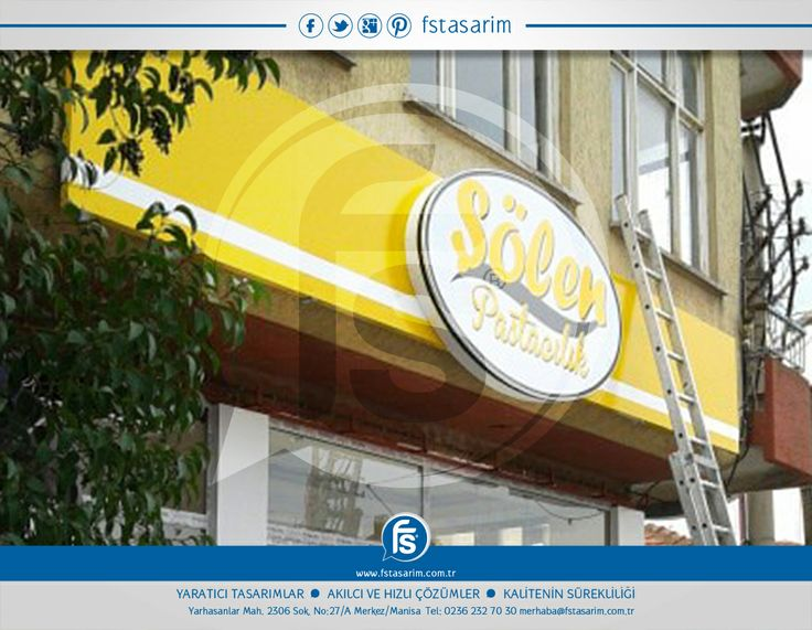 """""""Şölen Pastacılık"""" Tabela ve Reklam Kampanyaları için bizi tercih etti.. Teşekkürler... http://www.fstasarim.com.tr"""