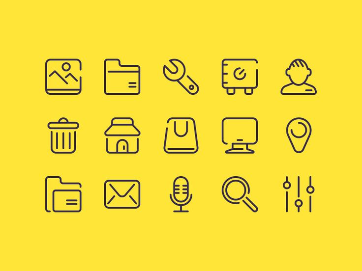 25 Free UI Icons More PSD: 72pxdesigns