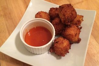 Apple and Cheddar Cheese Hush Puppies Recipe on Food52 recipe on Food52