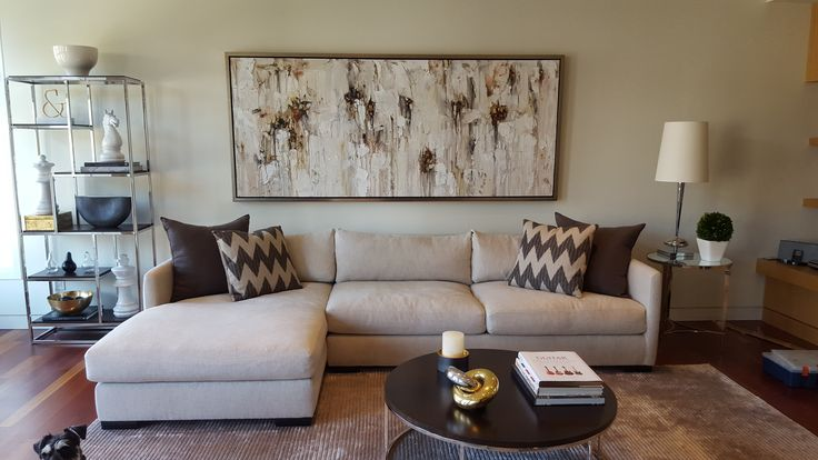 Commissioned Abstract artwork by Maya Eventov from Crescent Hill Gallery in Mississauga, ON