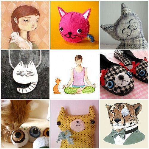 etsy Sleepy King | Tuesday Etsy Picks - Cats