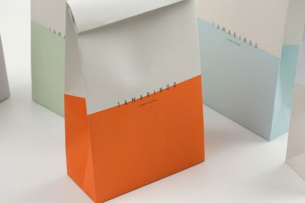 GMD 1 - Packaging design: These block colours look nice against the white, could easily be produced as value packaging.