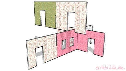 25 best ideas about puppenhaus selber machen on pinterest puppenhaus spielzeug kaufladen and. Black Bedroom Furniture Sets. Home Design Ideas