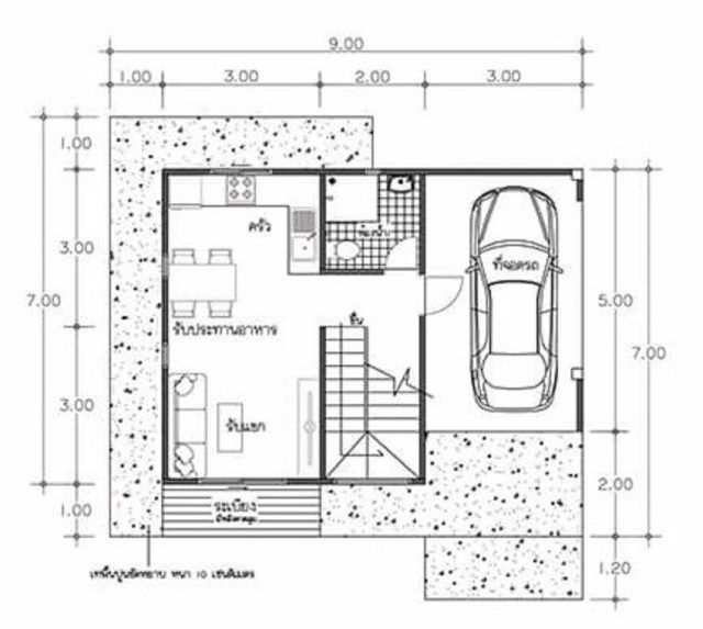 House Plans Idea 8x7 With 2 Bedrooms Sam House Plans House Plans Home Design Plans House