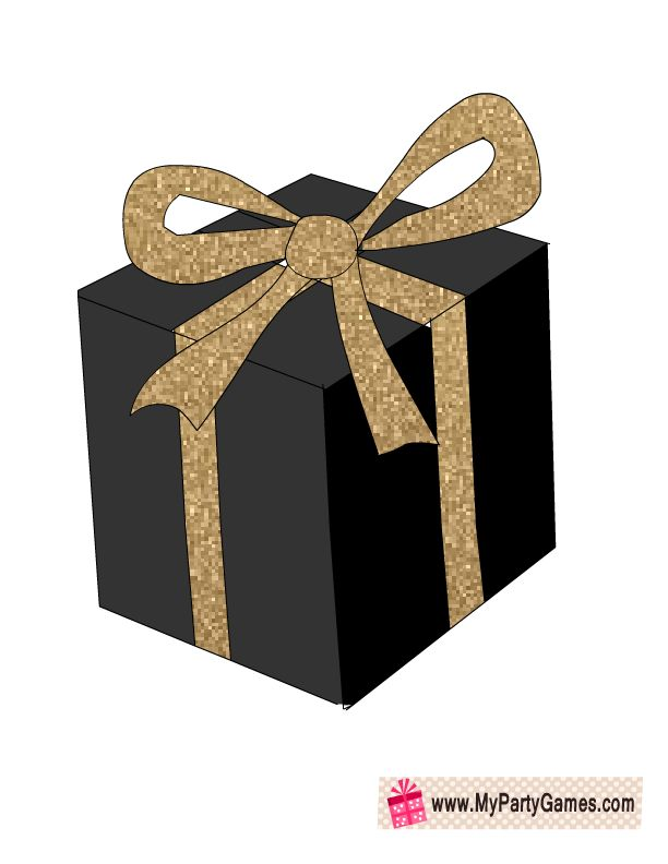Free Printable Gift Box Photo Booth Prop