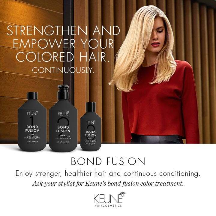 Bond Fusion! new system is a premium treatment that allows clients to go lighter and brighter