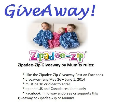 GiveAway ends Sunday! Like our contest post to enter: https://www.facebook.com/MumRx (pinned to the top of the MumRx FB page) win a @Christina S.com:  Home of the Zipadee-Zip zippy blanket!