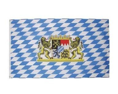 MFH Fahne, Bayern 90 x 150 / mehr Infos auf: www.Guntia-Militaria-Shop.de