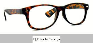 Urban Demi Wayfarer Readers Glasses - 526R Brown Tones