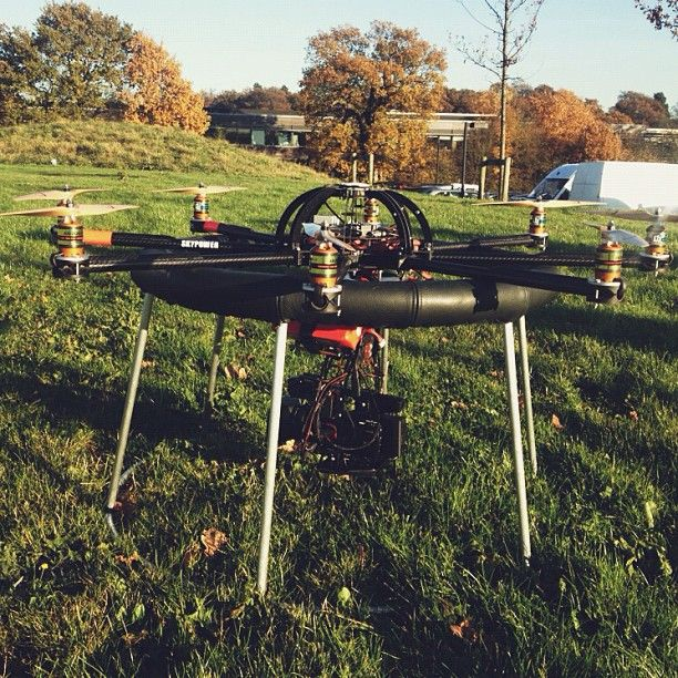Remote helicopter camera rig by @Alex Jones Lawrence