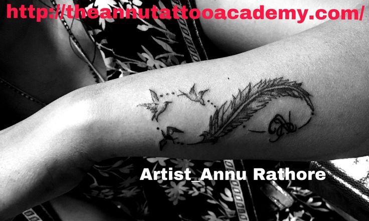 Feather & bird tattoo designs!! #feathertattoo #tattoo #besttattoos #ink #tattoo #inkgirl #annu_rathore😊😊 #annus #annustattoo #bestannusart #annuartist #annuart #wristtattoo  Please visit my website 👇🏿 http://theannutattooacademy.com/ More info_8982418566