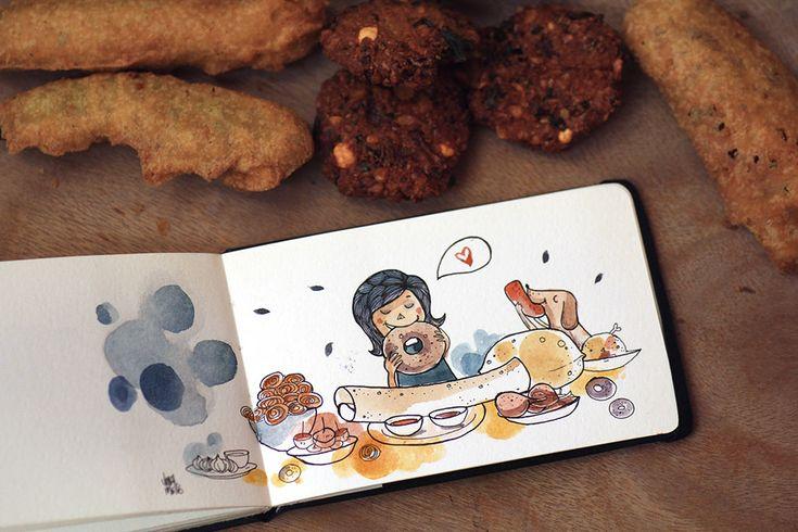 Sketchbook - Vimal Chandran
