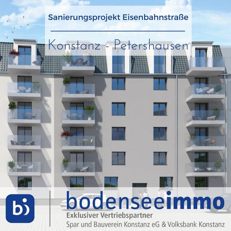 Das Sanierungsprojekt Eisenbahnstrasse Liegt In Sehr Zentraler Lage Von Konstanz Und Bietet 1 Bis 5 Zimmer