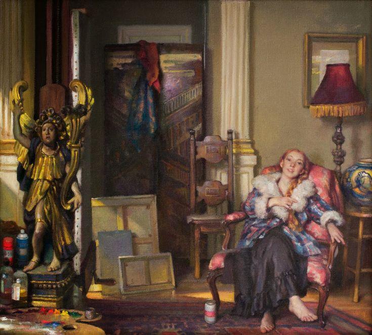 Nelson Shanks, pintor de renombre mundial. | Princesa