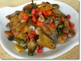 Resep Masakan Indonesia: Resep Ikan asin masak pedas