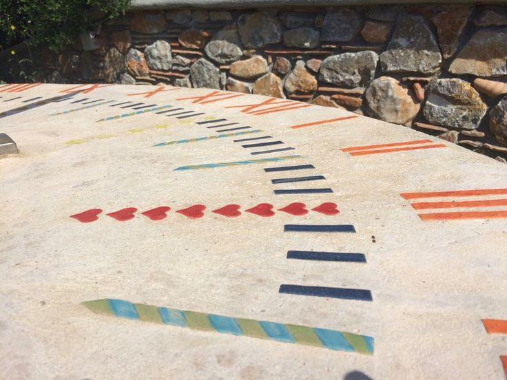 Sundial clock at Porto Valitsa  #Halkidiki #Hotels #Paliouri #travel #Greece