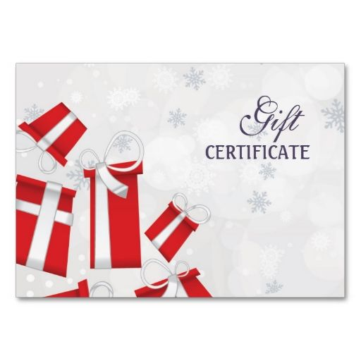 Present Voucher Template 7 Best Gift Certificate Images On Pinterest  Photography Marketing .