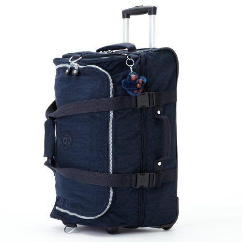 Kipling Luggage Teagan Duffle Carry On, True Blue, One Size:Amazon:Clothing