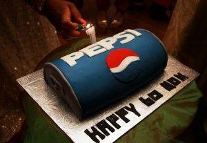 #PEPSI cake