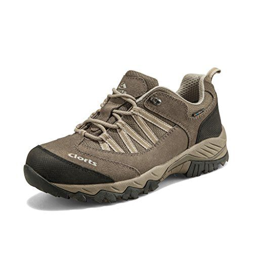 44443b86ba94e Clorts Mens Suede Leather Waterproof Hiking Shoe Outdoor Backpacking  Trekking Shoes Khaki HKL831E US10 -- You can get additional details at the  image link.