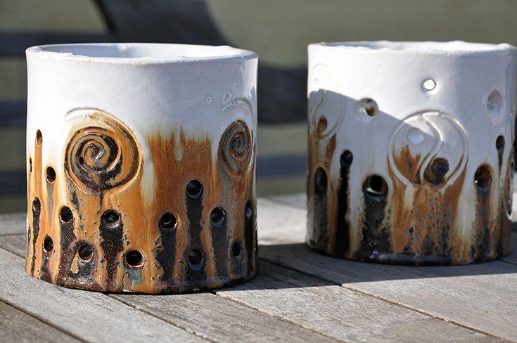 Keramik Windlicht