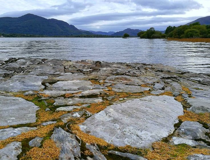 Beauty in mountains water and rocks in #Killarney