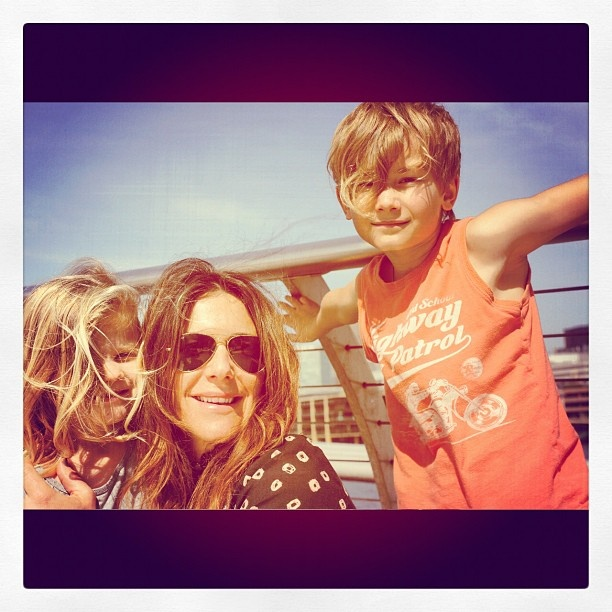 The Whitfield gang...Vashti Whitfield, Jesse & Indigo....Such a beautiful family, but missing a piece of their life xx <3 R.I.P. Andy <3 Loving husband & father <3