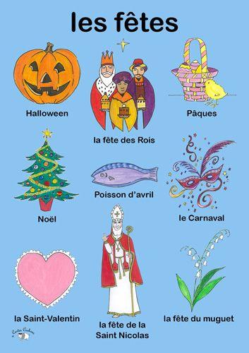 Quelques fêtes en France.