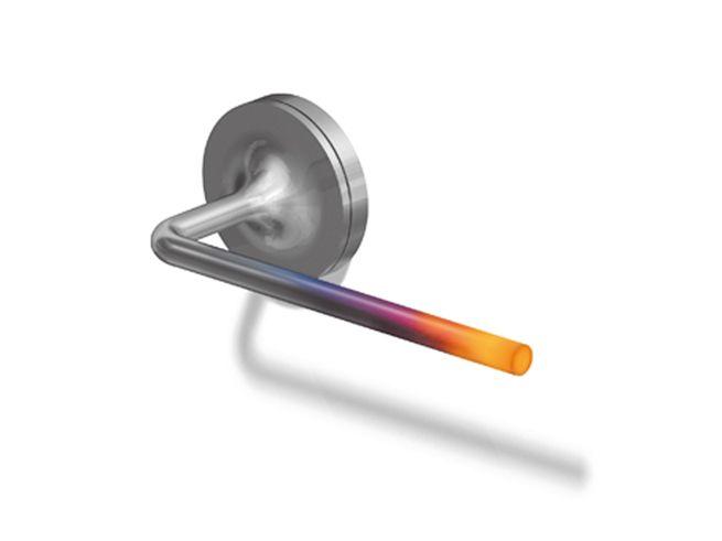 ondle / 視覚的に温度を感じるドアハンドル