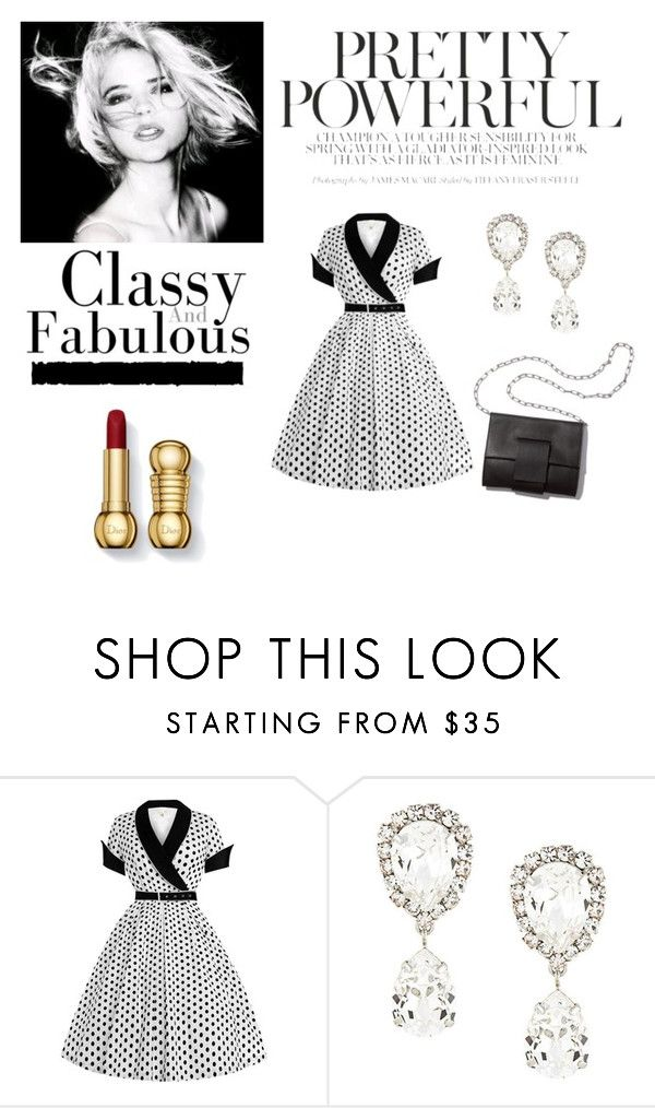 """Classy"" by carmesim ❤ liked on Polyvore featuring Dolce&Gabbana, Tim Holtz, MM6 Maison Margiela and plus size dresses"