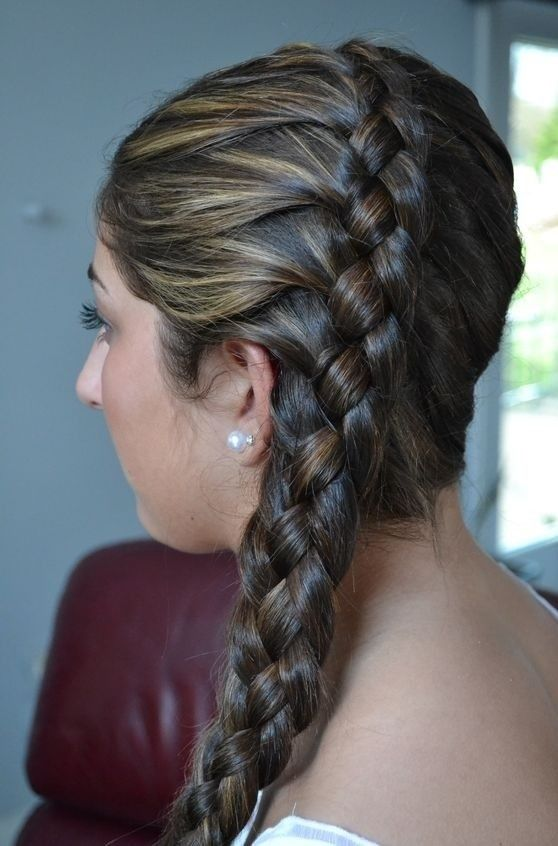 17 Best Images About 4 Strand Dutch Braid On Pinterest