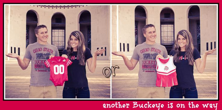 Big college football fans Heres an idea you can use as baby – Football Birth Announcements