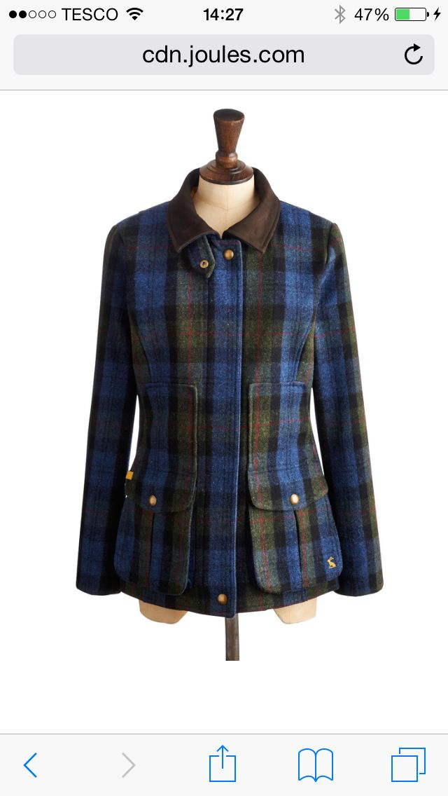 Joules field coat - love it!
