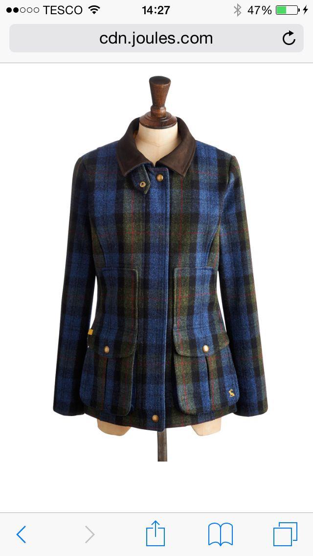 Joules field coat - love it!