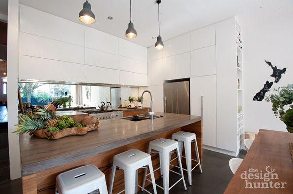 Wooden kitchen bench - yes please