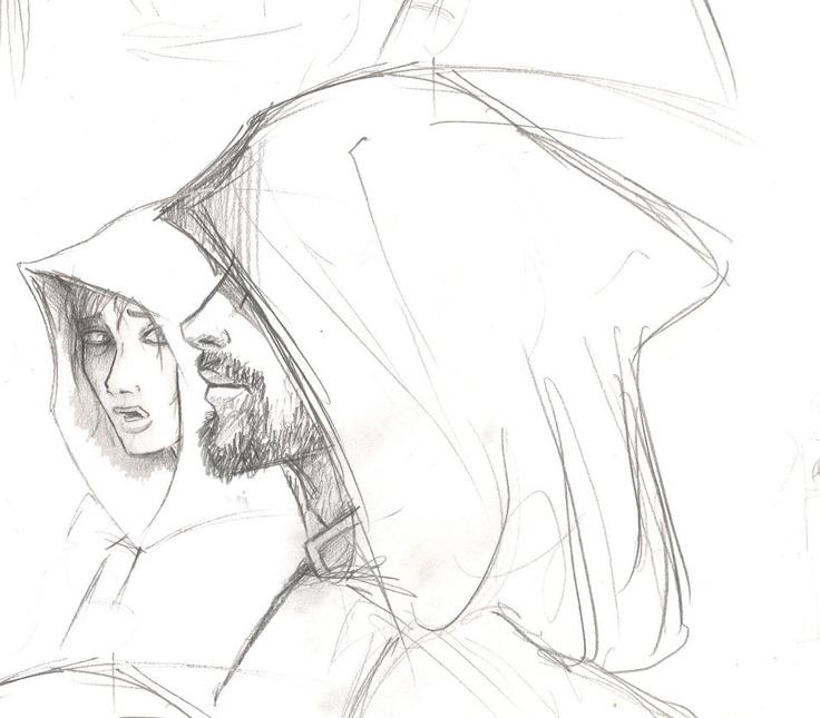 Sonea and Akkarin