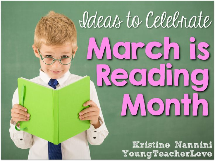 Lots of great ideas and FREEBIES to celebrate March is Reading Month! Most of them require little to no prep! Young Teacher Love Blog by Kristine Nannini