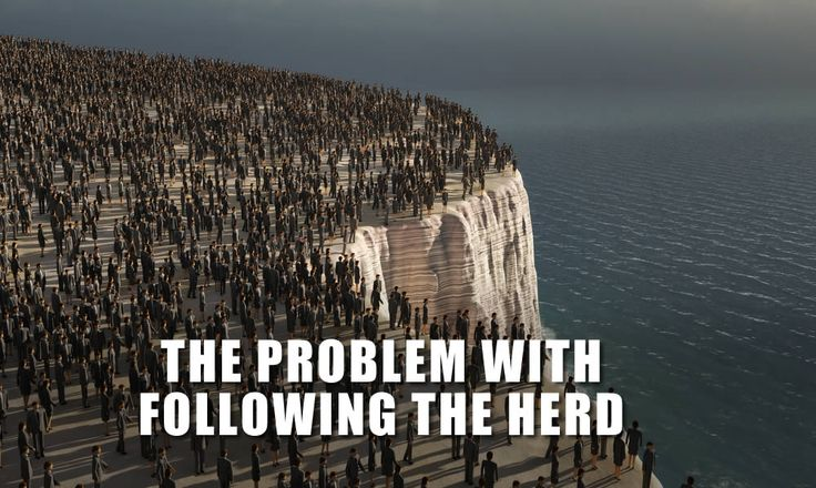 In business, you'll find you get much better results when you leave the herd and do things differently: http://streetsmartmarketing.com.au/conquer-fear-and-get-explosive-results/