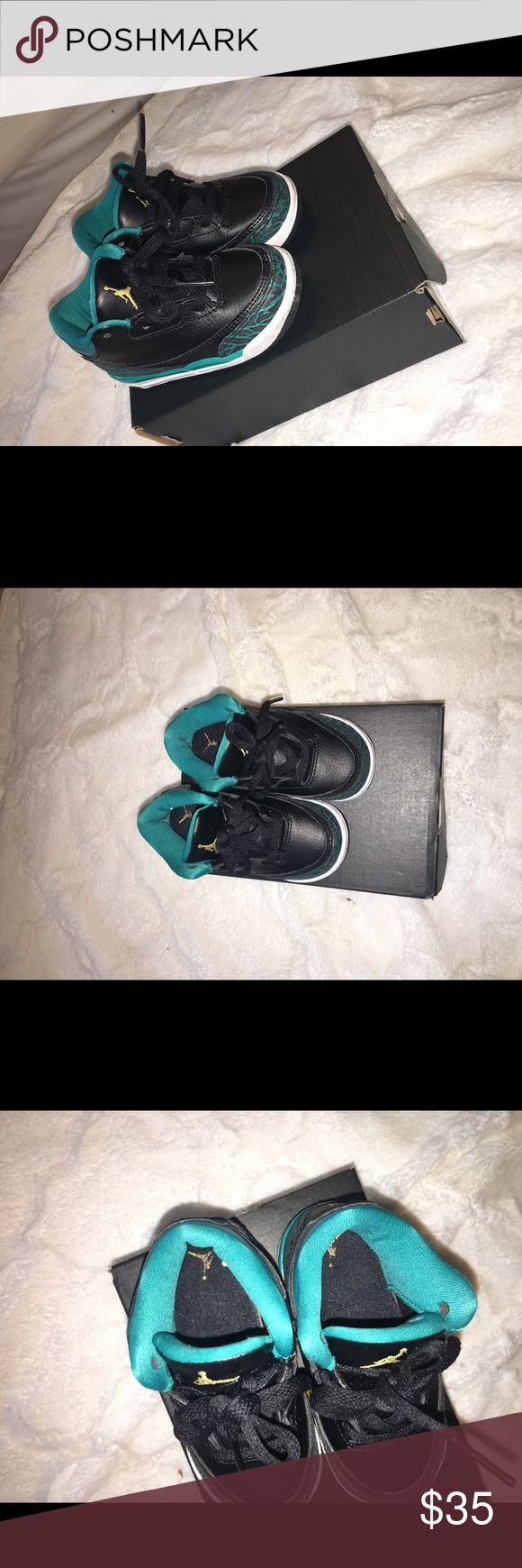 Toddler Jordans size 6c These are Jordan 3 retro GT. Worn a decent amount of times but not much. In good condition and comes with original box. Air Jordan Shoes Sneakers