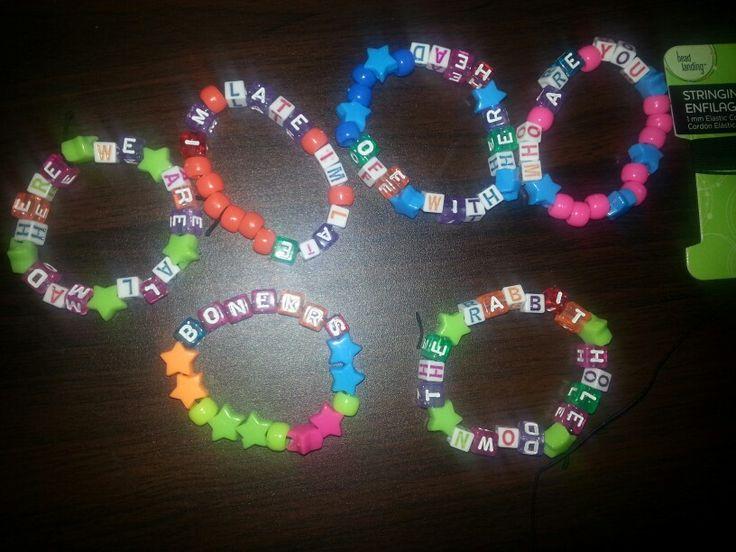 Beyond wonderland bracelets
