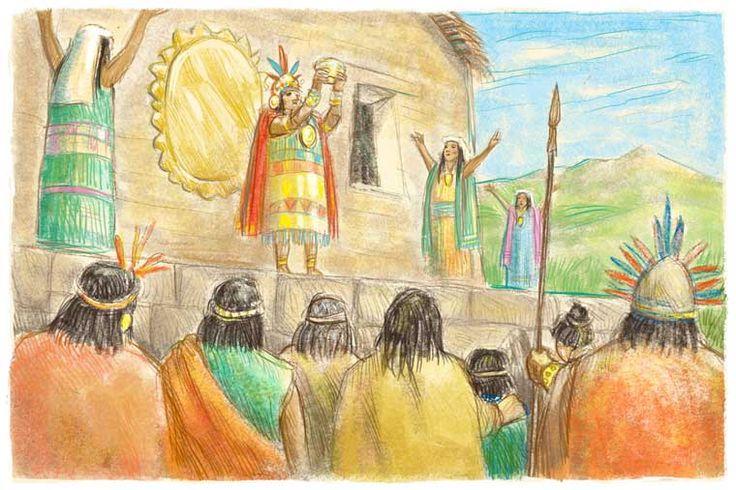 Les Incas, 3 ans plustard