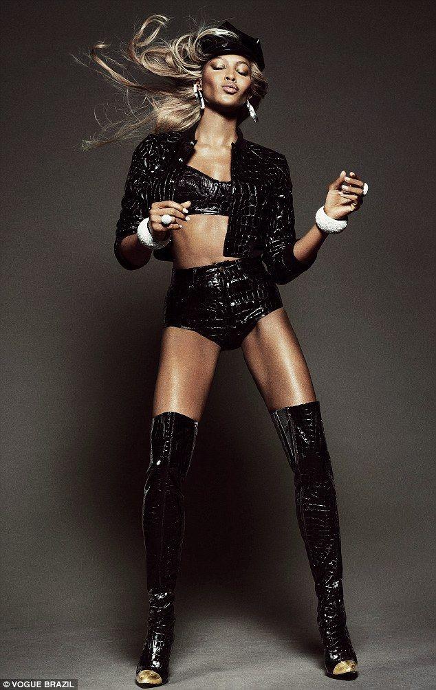 Naomi Campbell; Vogue Brazil