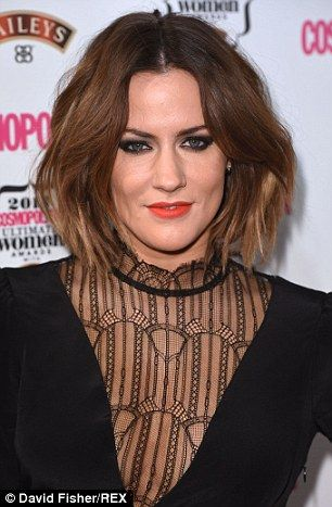 Caroline Flack, 35, has revealed for the first time how she enjoyed a brief romance with Prince Harry but had to call it off when word got out and she became known as his 'bit of rough'