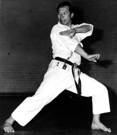 Karate Shotokan masters. Enoeda Keinosuke