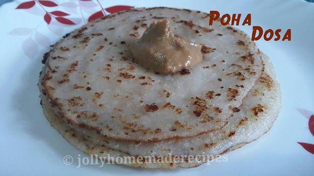 Homemade Recipes: Poha Dosa or Avalakki Dosa Recipe, How to make Poha Dosa Recipe