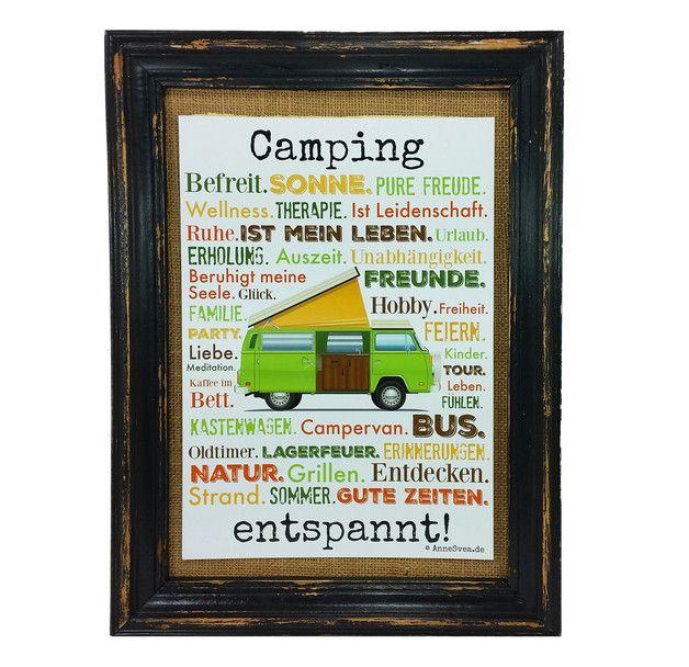 Witzige geschenke camping